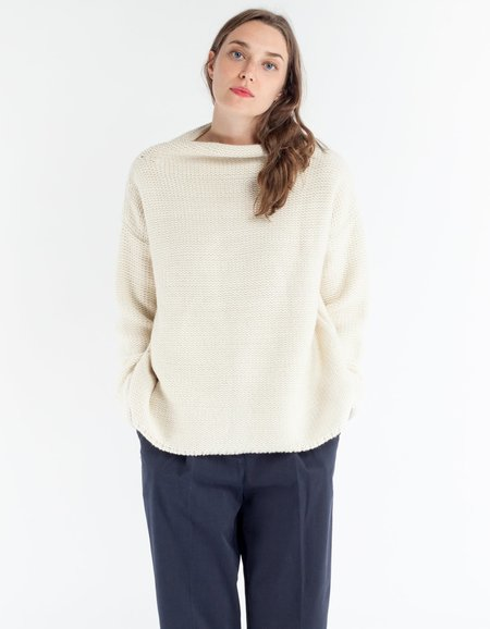 YMC Simone Jumper in Ecru