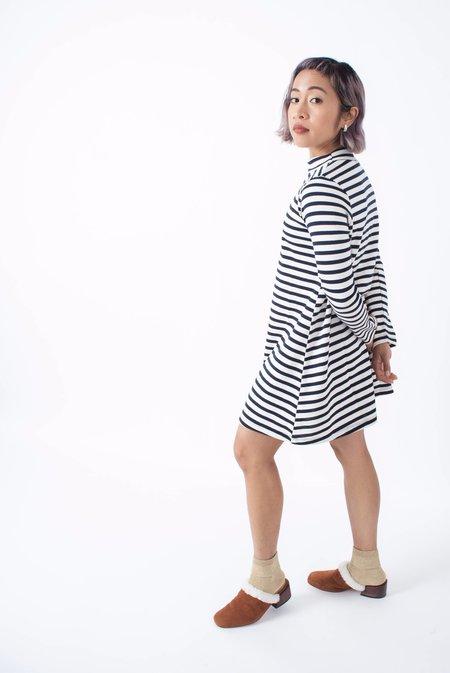Loup Franc Dress (Petite) - Sailor Stripes