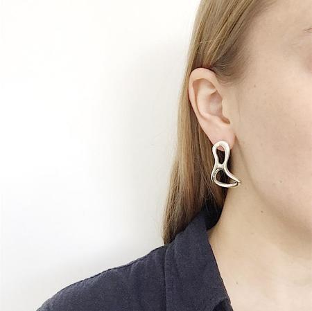 MM Druck Silver Salvador Earring - Silver