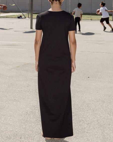 Baserange Tripoli Tee Dress - Black