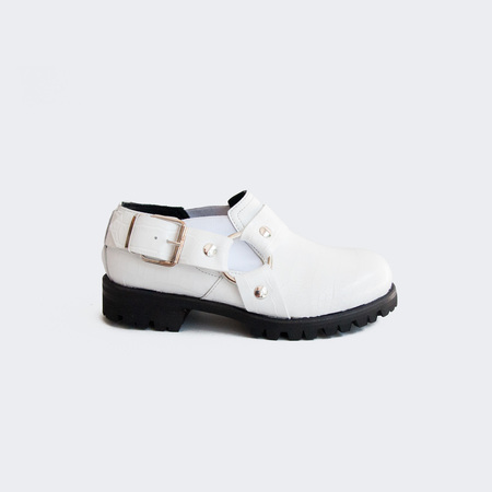 Alyx Chef Daddy Shoes - White Croc
