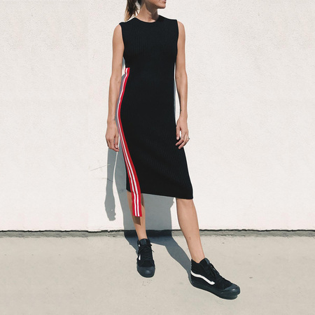 Public School Stripe Serat Dress