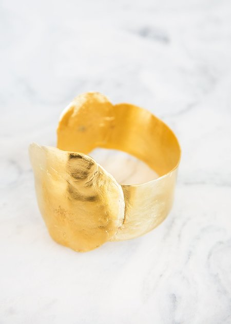 Takara Aria Cuff 14KT Gold