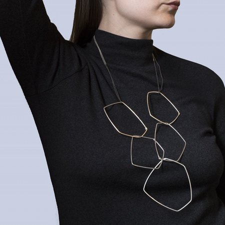 Gabrielle Desmarais 'Large 5X Element Necklace'