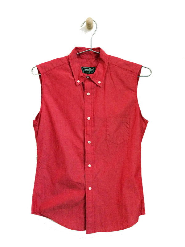 Gitman Bros. Sleeveless Button-Up