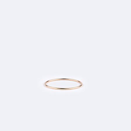 KRISTEN ELSPETH 14K Gold Petit Thread Ring