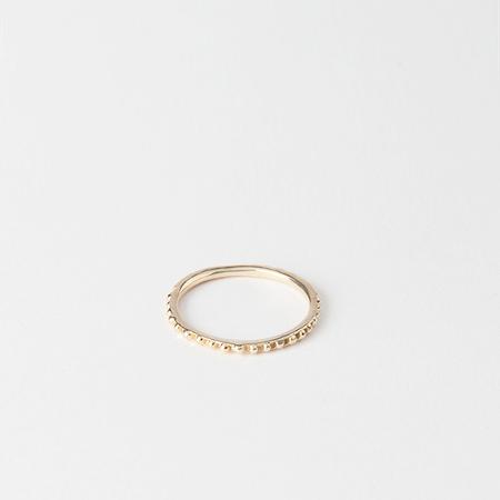 SATOMI KAWAKITA 18K Yellow Gold Petite Droplet Ring