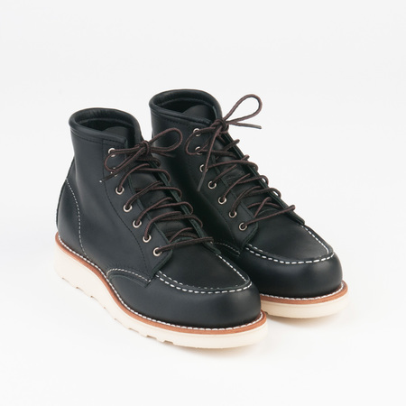 RED WING 6 Inch Moc in Black 3373
