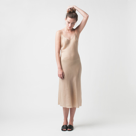 ORGANIC BY JOHN PATRICK Bias Long Slip in Nude
