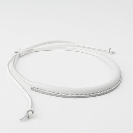 CRESCIONI Circuit Necklace in White