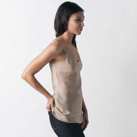 ORGANIC BY JOHN PATRICK Bias Camisole in Nude