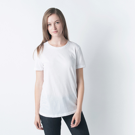 ORGANIC BY JOHN PATRICK Short Sleeve Boy Tee in White