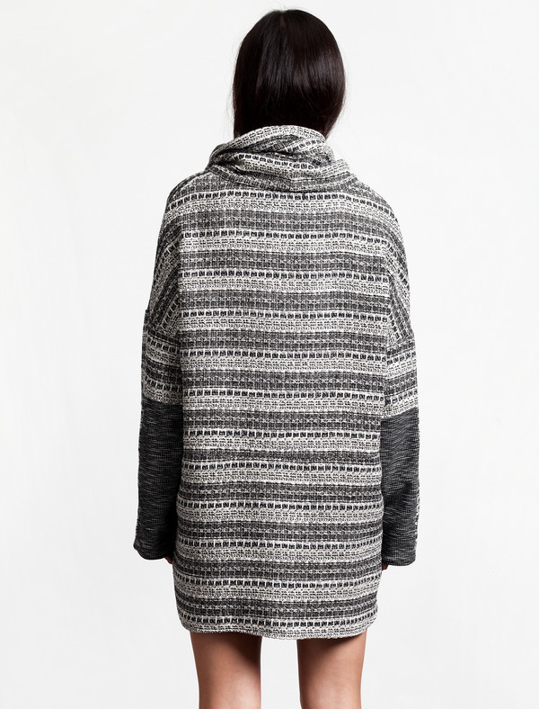 Thakoon Addition Womens Tweed Pullover