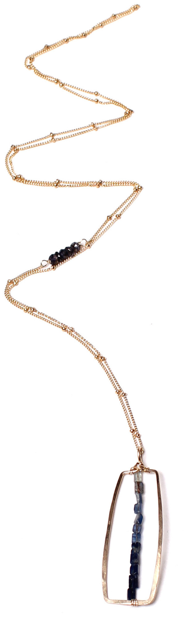 James and Jezebelle Iolite Necklace