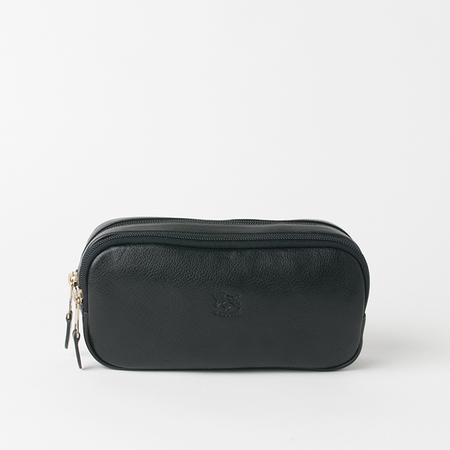 IL BISONTE Borsotto Travel Kit in Black