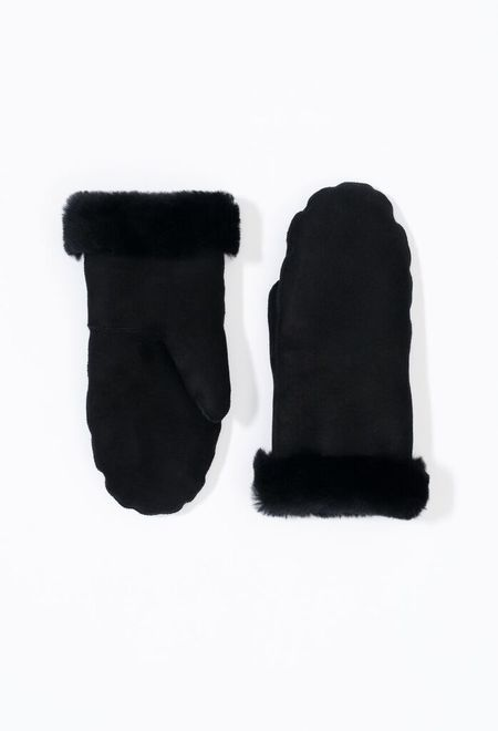 Samuji Leather Mittens
