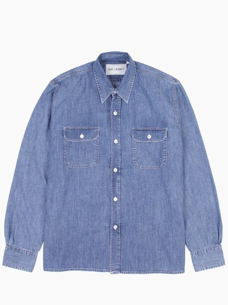 Our Legacy Country Shirt - Vintage Blue Denim