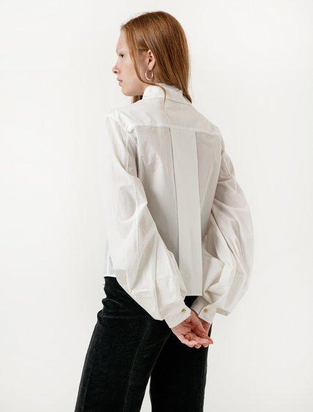 Lemaire Balloon Sleeve Shirt - Chalk