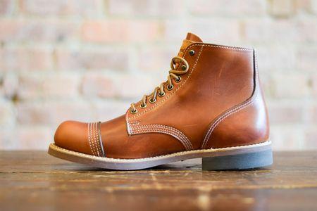 Thorogood Boots Dodgeville Unlined CXL Boots - Cognac