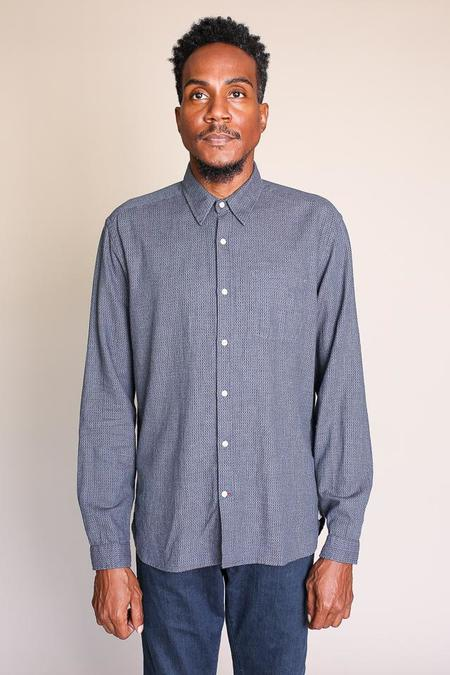 Oliver Spencer New York Special Button Up in Gilmour