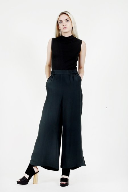 Rodebjer Pant Sigrid Twill - Cool Pine