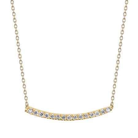 Gabriela Artigas Mini Pave 'Axis' Necklace