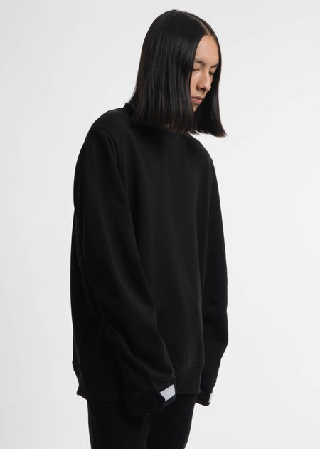 Matthew Miller Black Heston Bomber Sweatshirt