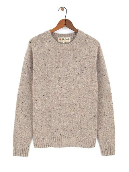 Mollusk Cambridge Sweater - Oatcake