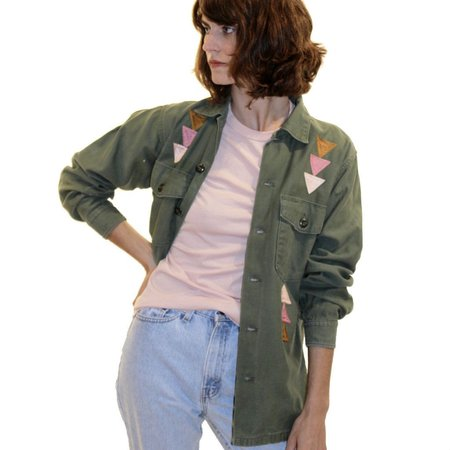 Bliss and Mischief St. Ellen Army Jacket