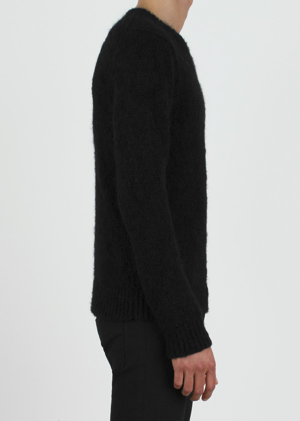 Unisex complexgeometries husk sweater | black
