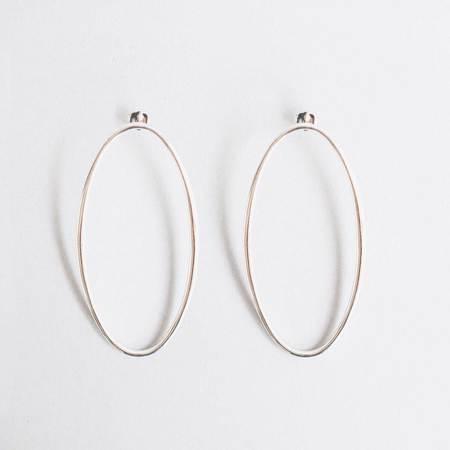 Gabriela Artigas Large Egg Earrings