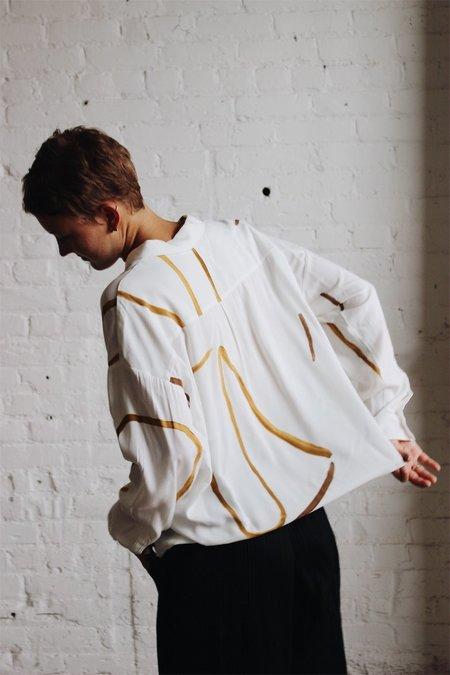 Paloma Wool Leonarda Shirt - Strokes Print