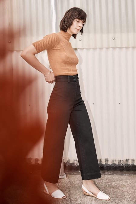 Shaina Mote UTILITY PANTS ONYX