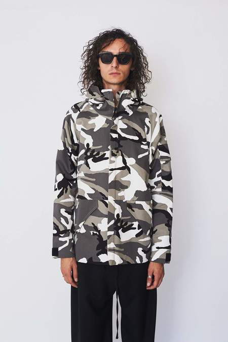 Assembly New York Cotton Camo Storm Coat