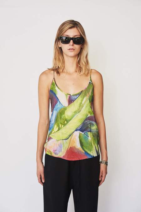 Strathcona Silk Painted Palm Camisole