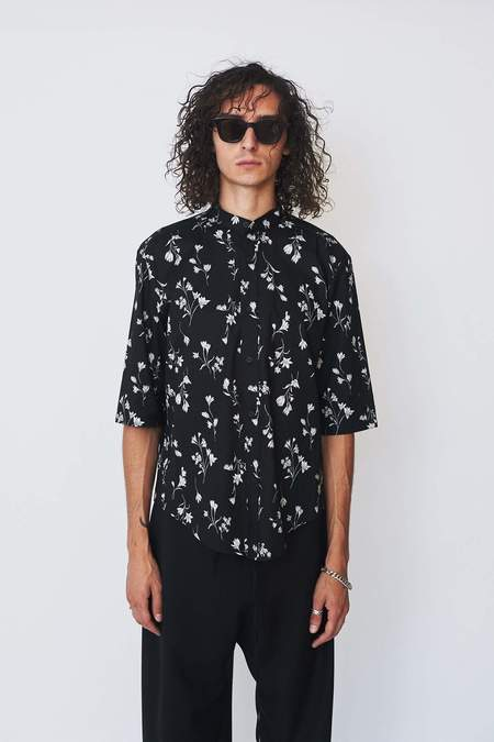 Assembly New York Floral Non Collar Shirt