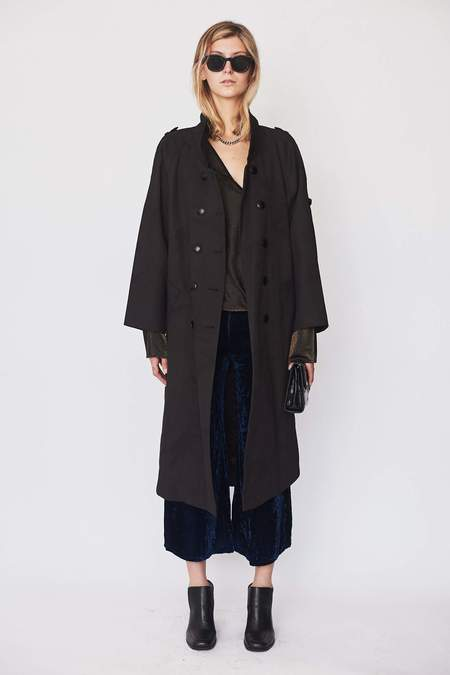 Assembly New York Over-dyed Camo Trench