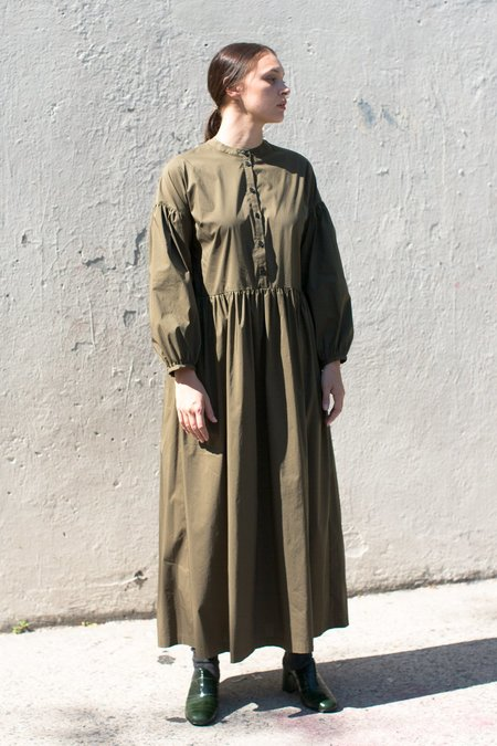 Creatures of Comfort Sequoia Dress in Army