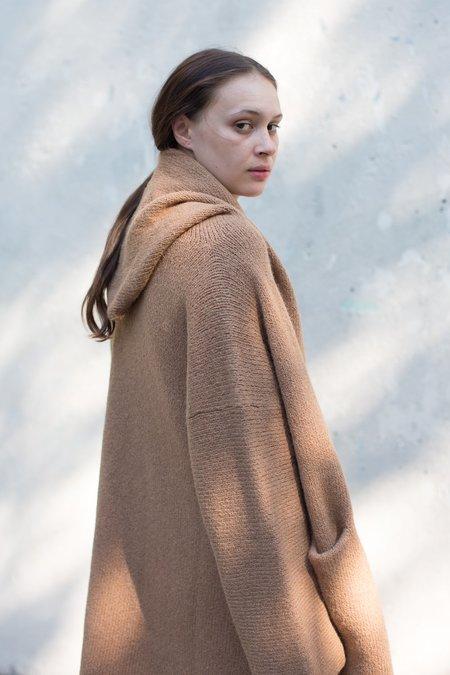 Lauren Manoogian Capote Coat in Camel