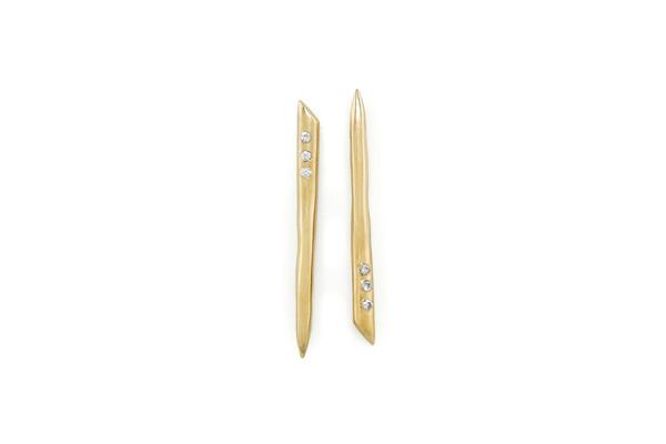 Mercurial NYC Tusk Earrings