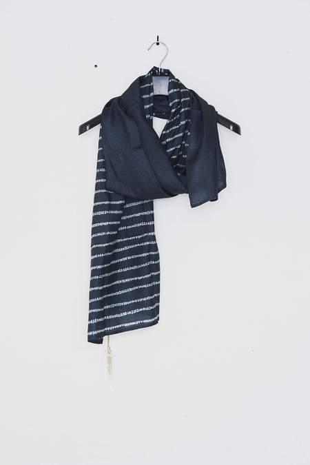 Monsoon Textiles Smoke Lines Scarf