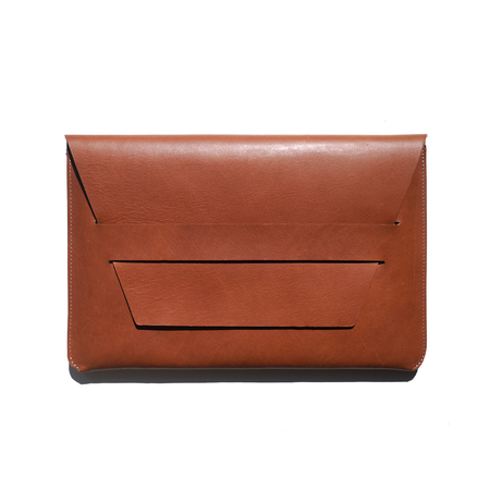 AW by Andrea Wong PORTFOLIO LAPTOP CASE - TAN