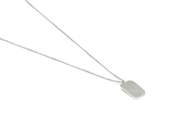 Louise Kragh Jewelry Raw Diamond Necklace