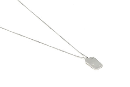 Louise Kragh Jewelry Raw Diamond Necklace