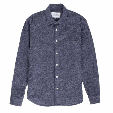 Corridor Heathered Navy Flannel