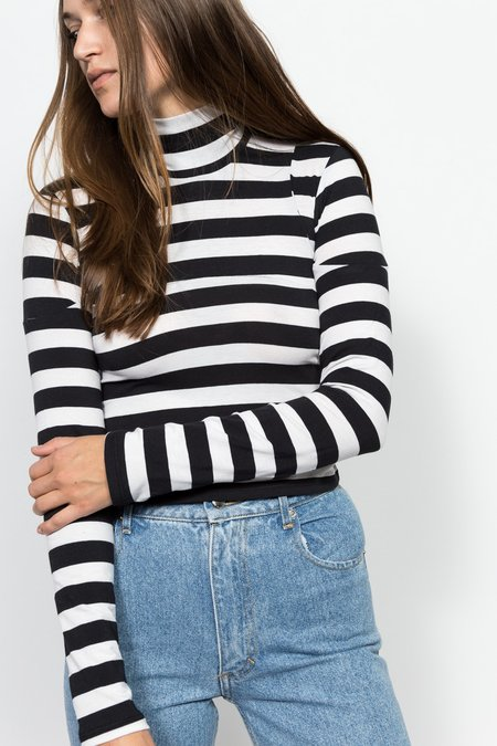 ECKHAUS LATTA Stripe Turtleneck