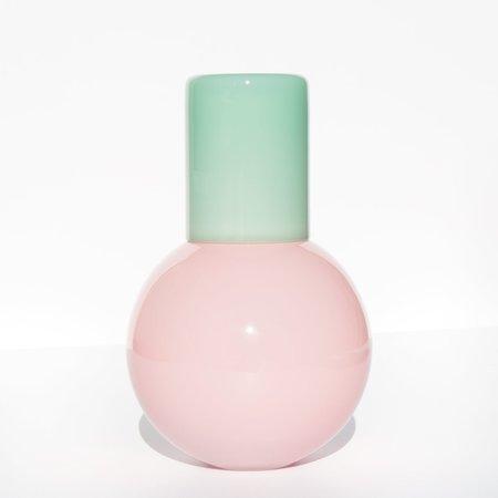 Anna Karlin Bedside Carafe - Pink/Mint