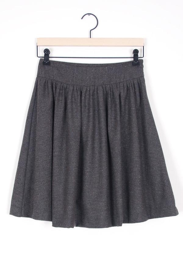 Auburn Wool Skirt