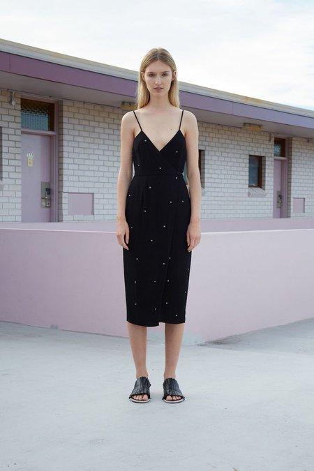 Third Form Starry Night Wrap Dress