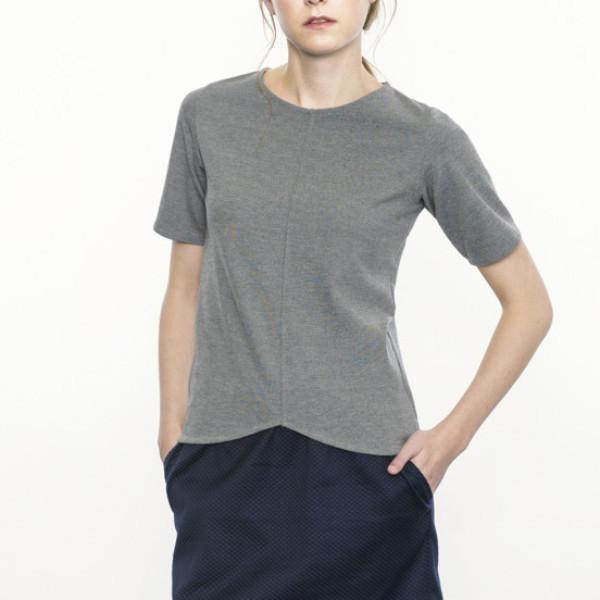 Josiane Perron Grey Top